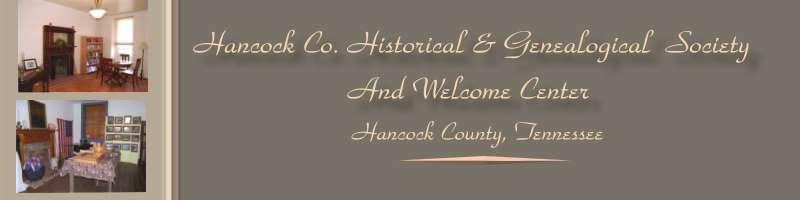 Hancock County TN Historical & Genealogical Society